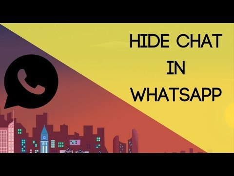 How To Hide Chat In WhatsApp: Without Archive (No Root)