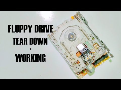 How Old Floppy Disk Drives Work