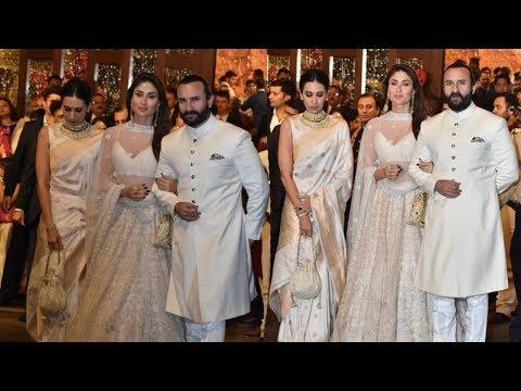 Xxx Mp4 Kareena Kapoor Khan Saif Ali Khan 39 S Grand Entry At Isha Ambani 39 S Wedding Reception 3gp Sex