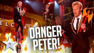 'Danger Peter' is on the LOOSE AGAIN!   Live Shows   BGT Series 9