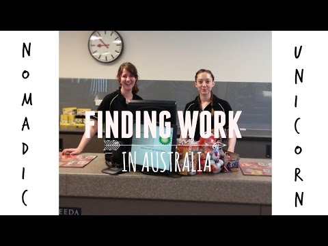 How To Find Work In Australia