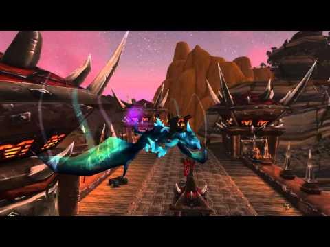 Azure Netherwing Drake Mount Gameplay - PTR