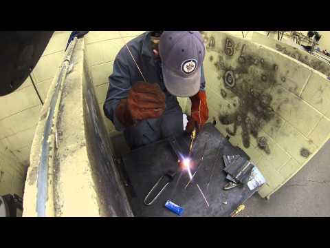 Oxy-Acetylene Gas Welding (corner weld)