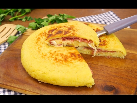 Potato flatbread: a quick and easy recipe with no yeast