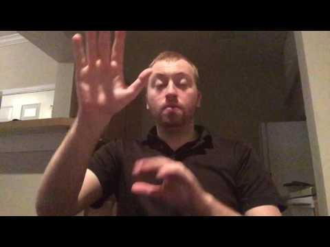 EN-ASL Interpreting