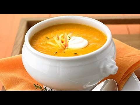 How to make simple pumpkin soup