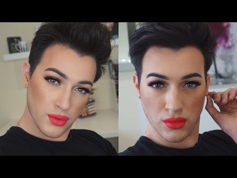 Chit Chat Get Ready With Me: Natural Eyes and Neon Lips | MannyMua