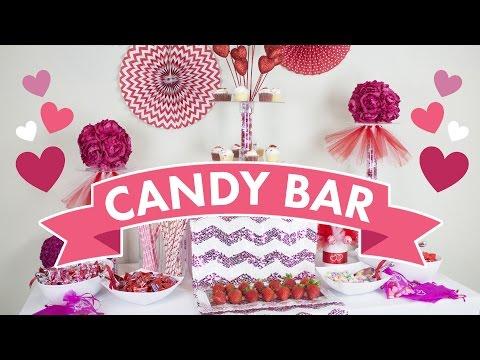 Candy Bar Set Up | BalsaCircle.com