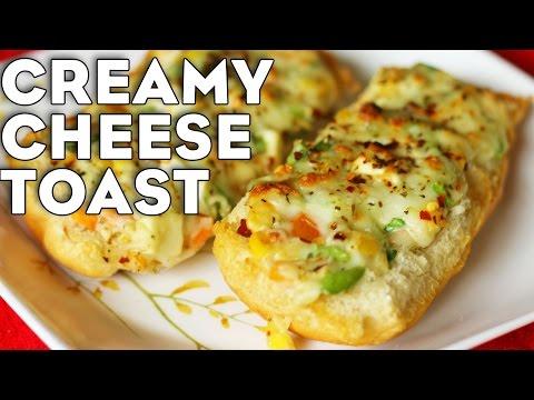 Cheese Toast Recipe | Open Veg Toast | Snack Recipe For Kids | Kanak's Kitchen