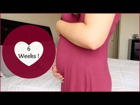 6 WEEKS PREGNANT UPDATE | EARLY PREGNANCY SYMPTOMS