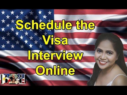 K1 Visa: How to Schedule your K1 Visa Interview Online! (Tutorial)