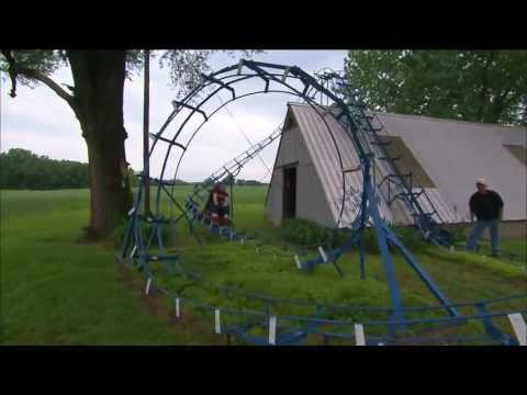 Backyard Roller Coaster | Indiana Oddities