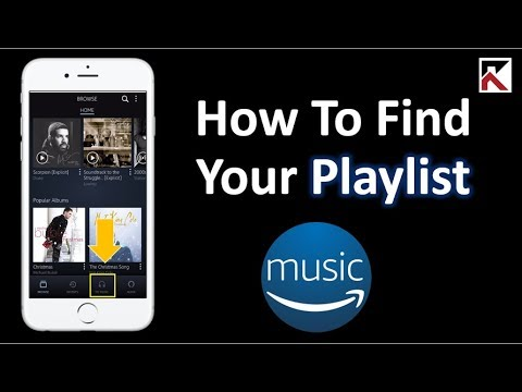 How To Find Your Playlists Amazon Music
