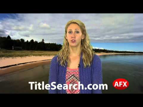 Property title records in Schoolcraft County Michigan   AFX
