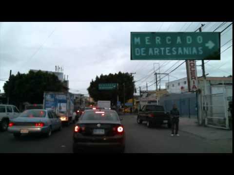 Driving from San Ysidro, CA, to El Centro de Tijuana