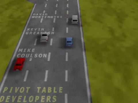 Dev Hunter - a hidden game in Excel 2000