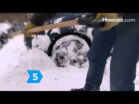How to Dig Your Car Out of Snow