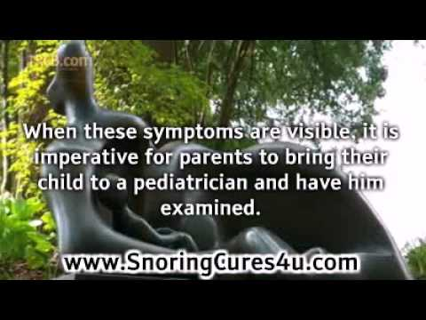 Causes of Snoring in Kids