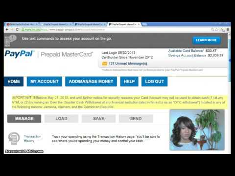How I Get My Cash Offline FAST!!- INSTANT Transfer - PayPal PrePaid Mastercard