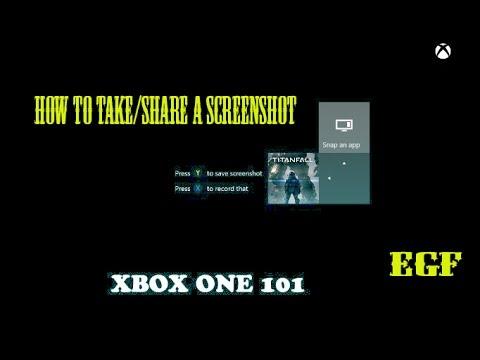 How to take/share screenshot on Xbox One