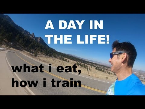 VLOG:TRAINING FOR A 2:18 BOSTON MARATHON: WHAT I EAT IN A DAY| Sage Canaday
