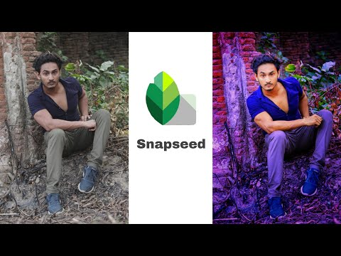 Snapseed photo editing ||🔥best color effect photo editing,snapseed tutorial