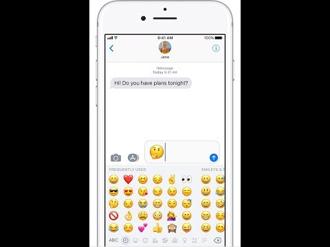 How to Enable Emoji Keyboard on the iPhone or iPad