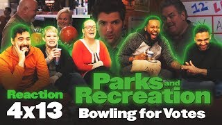 Parks and Recreation - 4x13 Bowling For Votes - Group Reaction