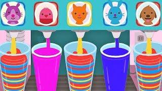 Aprender Los Colores Números Formas Con Sago Mini - Educación Juego De Dibujos Animados Para Niños