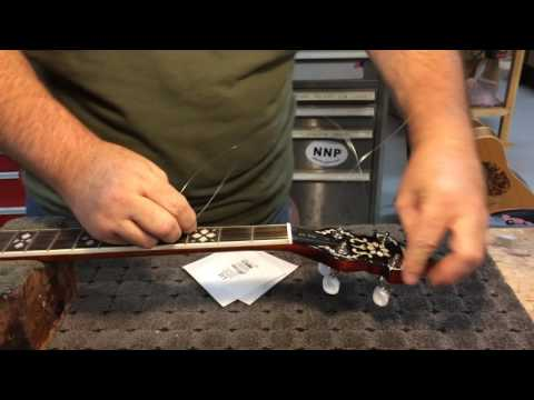 How To Change your Banjo Strings with Richie Dotson