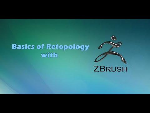 Retopology with ZBrush