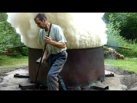 Making Charcoal - Part One