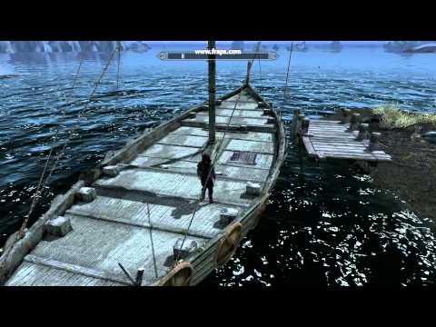 Skyrim Ship Docking