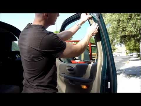 2000 F-150 Door Panel Removal and Mirror Replacement