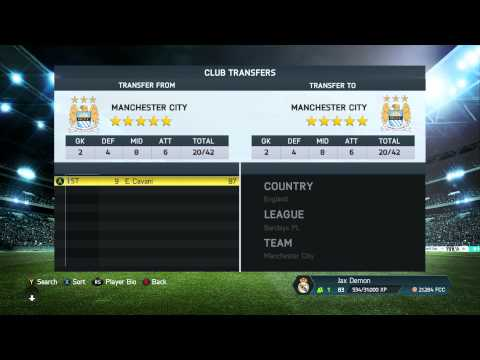 HOW TO ADD/ REMOVE PLAYERS IN EDIT TEAM FIFA 14 (Short vid)