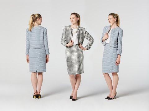 How to Make a Tweed Jacket | Teach Me Fashion