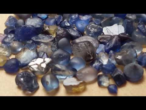 Tasmanian natural sapphire rough gemstones no heat  by Metal Urges Fine Jewellery and Diamonds