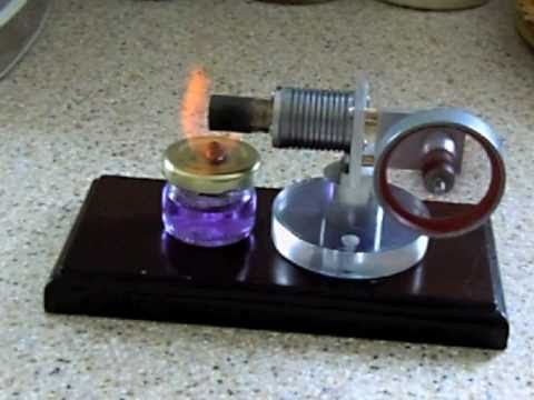 Miniature Stirling Engine Finished