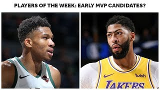 Giannis Antetokounmpo And Anthony Davis Win Player Of The Week, Making Case For 2019-20 MVP