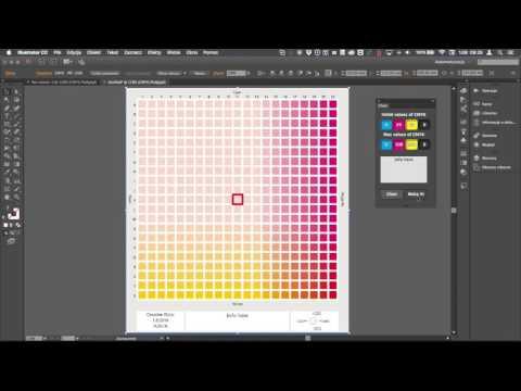 Color Chart Illustrator