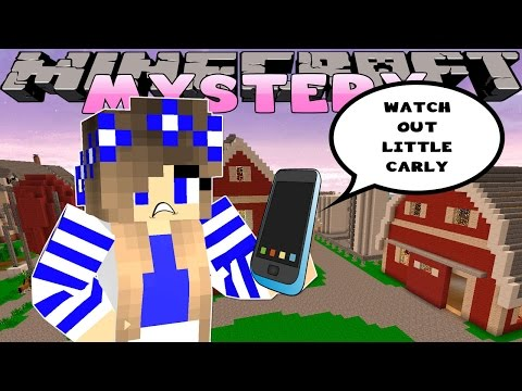 Minecraft Mystery-Little Carly-WHO IS TEXTING LITTLE CARLY??