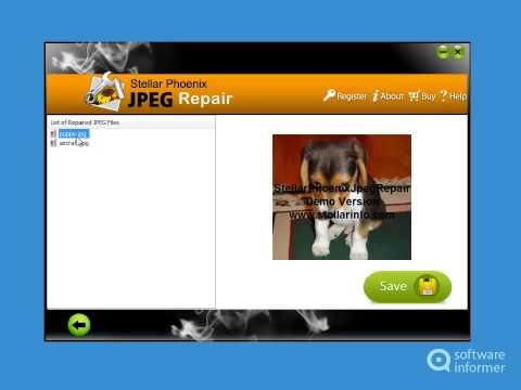 Stellar Phoenix JPEG Repair quick demo