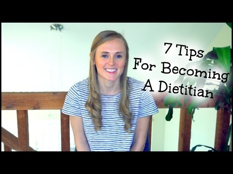 7 Tips For Becoming A Dietitian // Advice for Future Dietitians