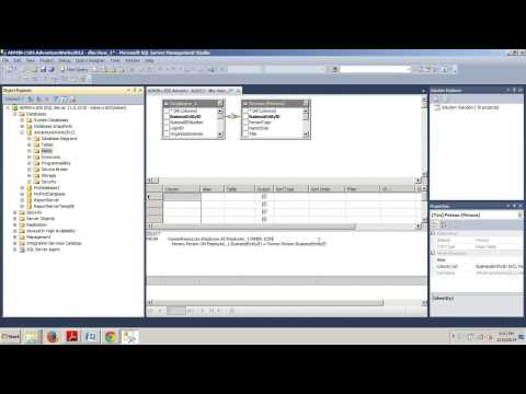 SQL Server 2012 tutorial 54: How to create a view