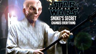 Star Wars Episode 9 Snoke Secret Will Change Everything! (Leaked Details)