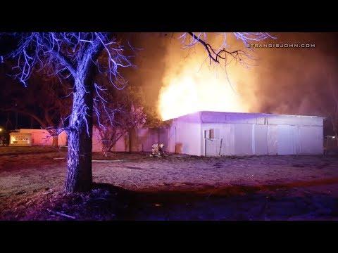 Hemet: Early Morning Fire Destroys Abandoned Home