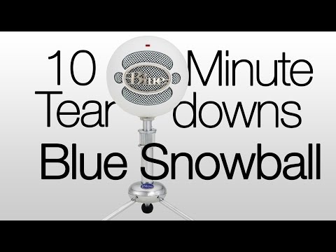 10 Minute Teardowns: Blue Snowball Ice USB Condenser Microphone
