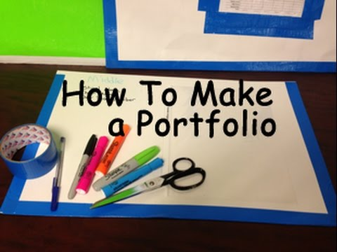 How to Make An Art Portfolio