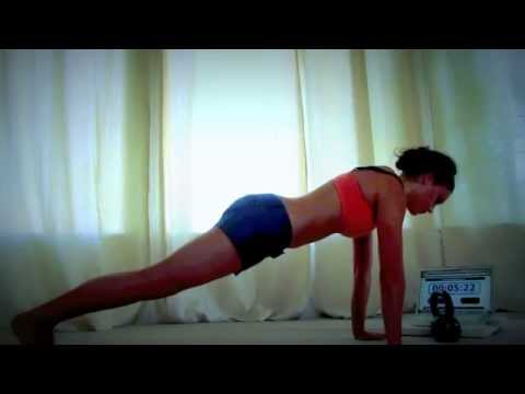 4 minute plank hold CHALLENGE