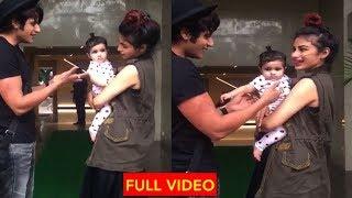 Naagin 2 Actress Mouni Roy Playing with Karanvir Bohra daughter CUTE Video | Mouni roy playing baby